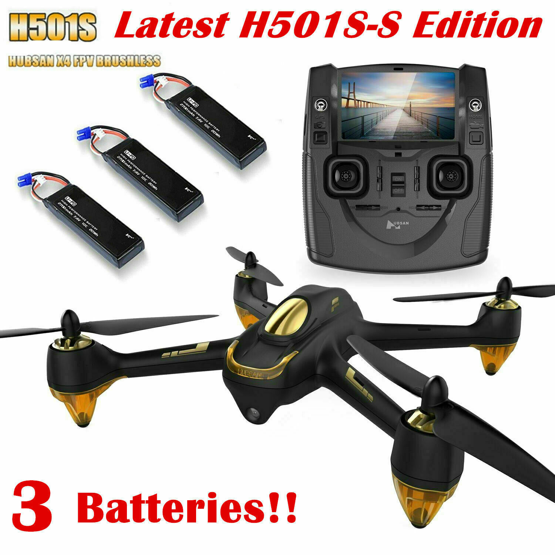 alta qualità Hubsan H501S Quadcopter 5.8G FPV FPV FPV Brushless 1080P Headless GPS Drone,SS edizione  miglior reputazione