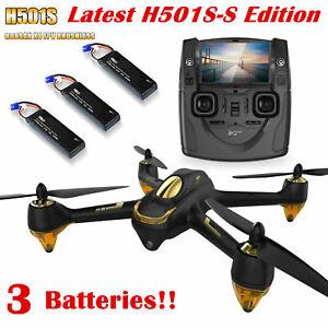 Hubsan H501S Quadcopter 5.8G FPV Brushless 1080P GPS Drone RTF,...