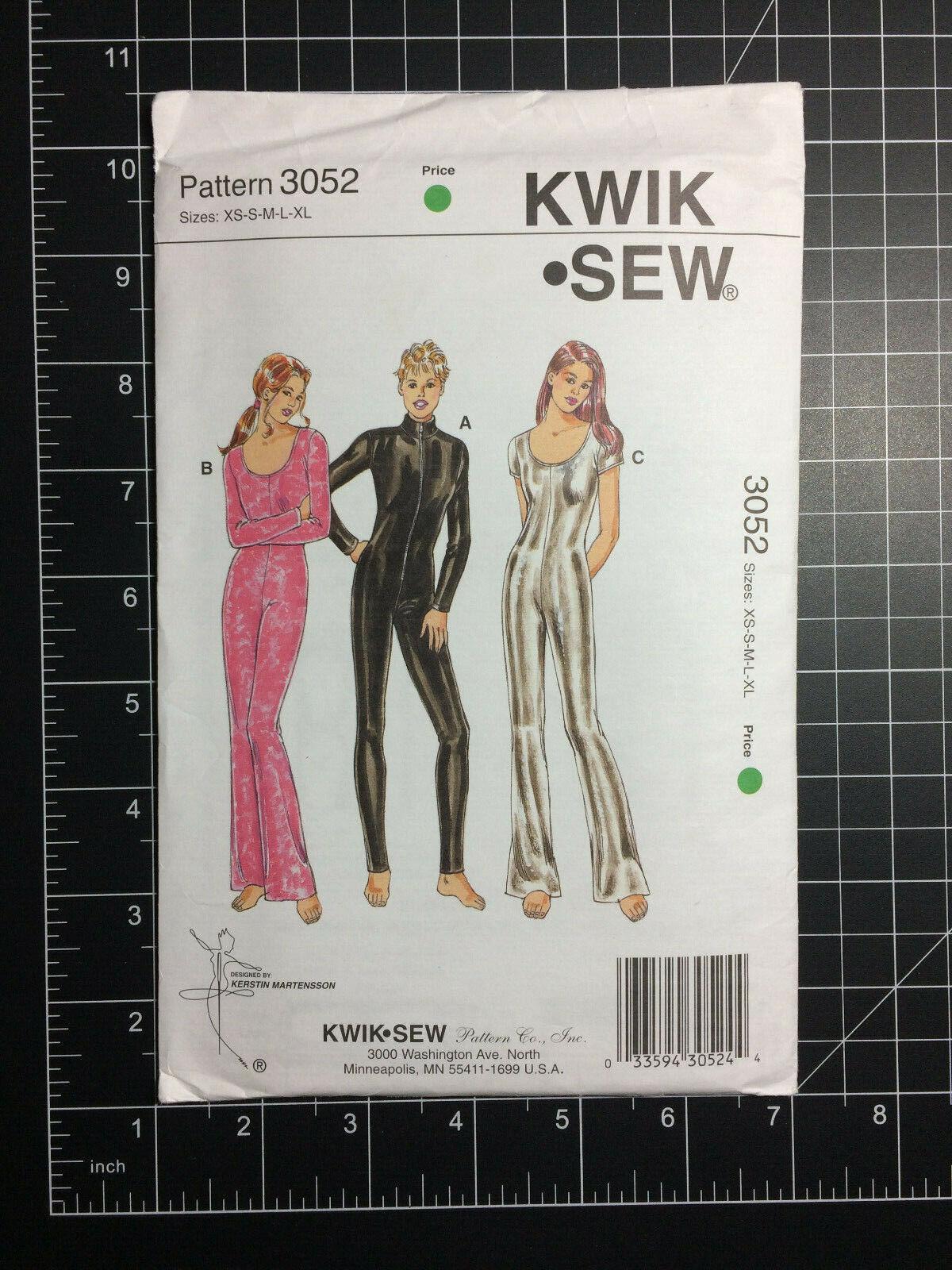 Kwik Sew K4251 patrón misses Chaqueta /& tanques Tamaños XS-XL Sin Cortar