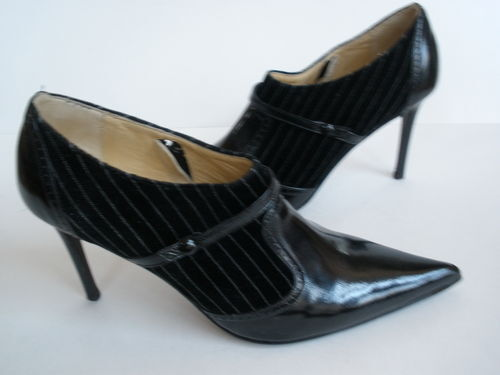 BOCCACCINI ITALY Ankle hi heels US 9  255 NEW