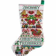 """Tobin Angel Of Joy Stocking Counted Cross Stitch Kit-17/"""" Long 14 Count"""