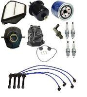 Honda Accord 94-97 2.2 Ex Tune Up Kit Filters Pcv Valve Cap Rotors Wires Plugs on Sale