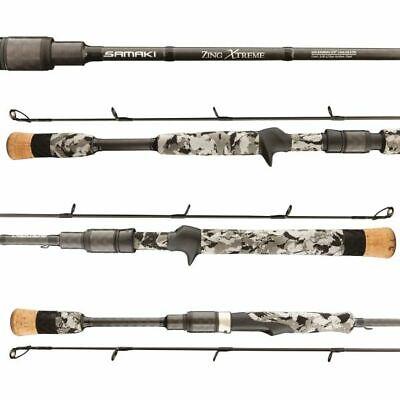 "Samaki Zing Spin 6/'10/"" SZG-6101SXL 1 piece Graphite Fishing Rod 2-6 Lb NEW"