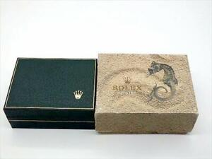 ROLEX-watch-box-case-Vintage-antique-with-outer-box