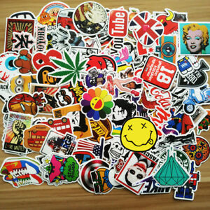 New-200pcs-Skateboard-Sticker-Graffiti-Laptop-Car-Luggage-Decals-Random-Stickers