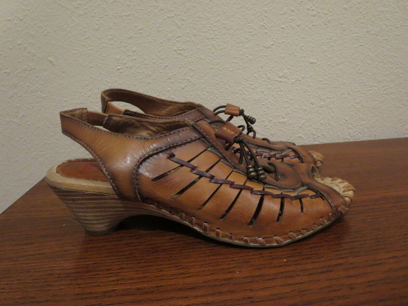 Pikolinos Huarache Gladiator heeled
