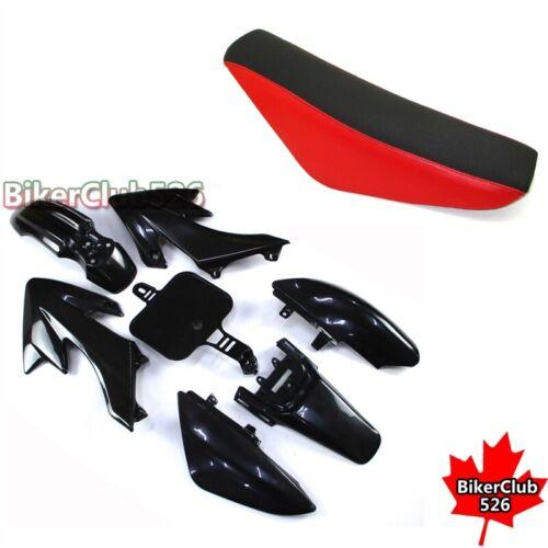 Plastic Fairing Body Kits Tall Foam Seat For 125cc 150cc Chinese Dirt DHZ GPX