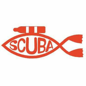 "Scuba Diving Bumper Sticker ""scuba Tank 5"" Decal DS29"