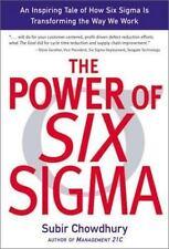 The Power Of Six Sigma Subir Chowdhury