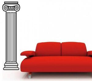 Das Bild Wird Geladen Deko Saeule Wandtattoo Wohnzimmer Retro Antik Wandsticker