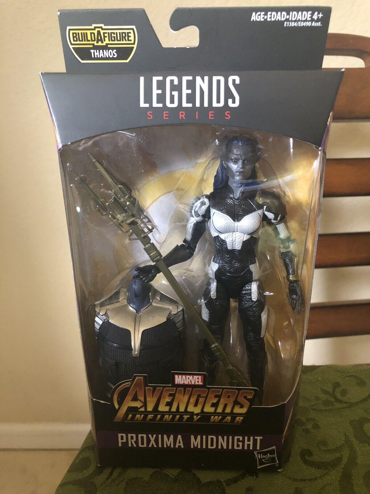Marvel Legends Series Avengers Infinity War Proxima Midnight BAF Thanos