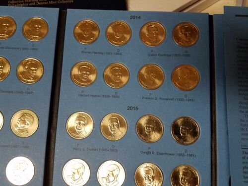 Ultimate Presidential Gold Dollar Complete 156 Coin Set P/&D Mint Vol 1/&2 Pos A/&B