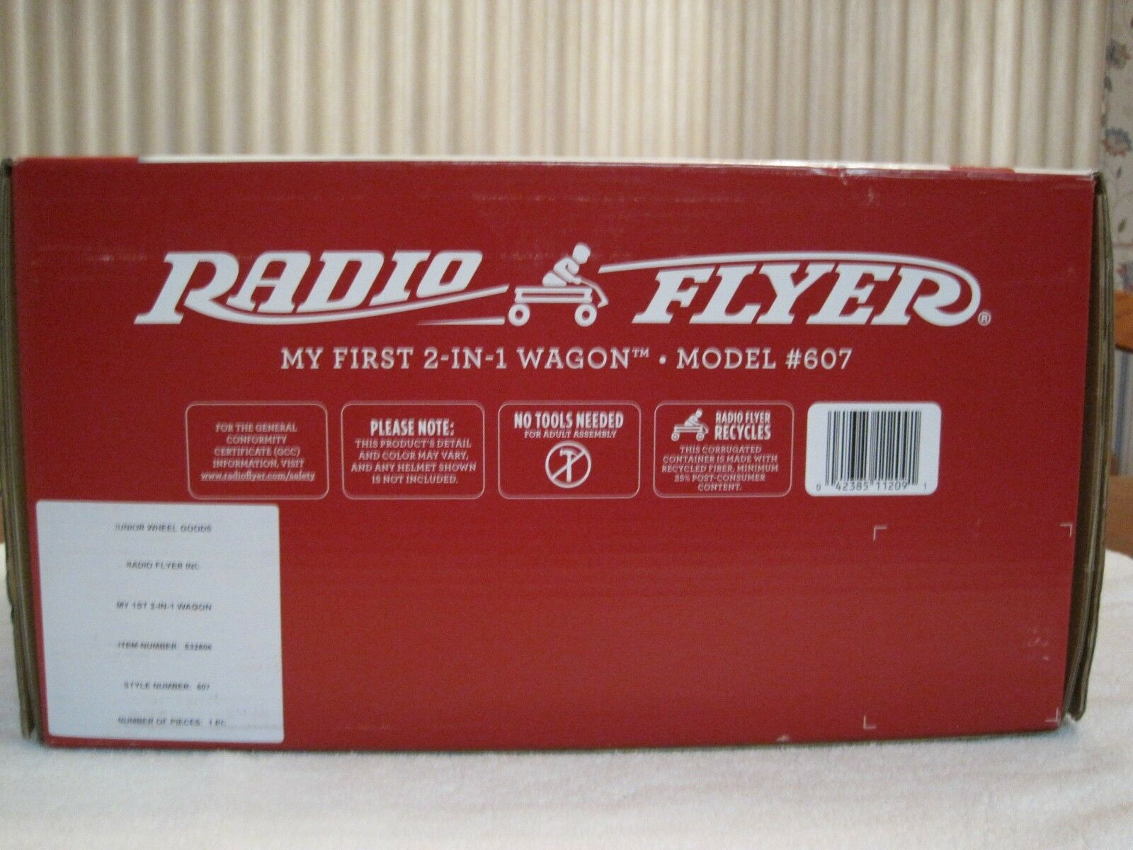 Radio Flyer My 1st 2 In1 Wagon Ride On Red Ebay