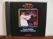 SONNY ROLLINS saxophone colossus - CD-Maestri del Jazz-De Agostini- fuori comm
