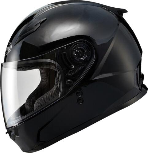 GMAX GM49Y Kids//Kids Full-Face Motorcycle Helmet Gloss Black Choose Size