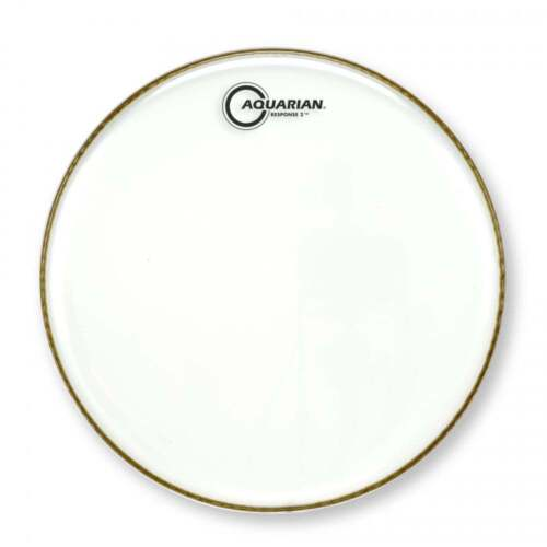Aquarian Response II Clear 2 Ply Drum Heads