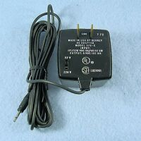 5v Dc 160ma Wall Adapter Power Supply 2.5mm Phone Plug Tip {+} 5vdc .16a Amp