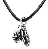 Men's Fashion Jewelry Stainless Steel Motorcycle Chain Pendant Necklace