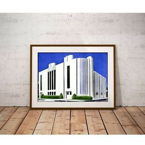 Streamlined-Moderne-Art-Deco-Architecture-Factory-from-1937-Poster