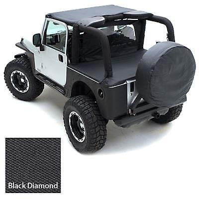 "X-Large Tire Smittybilt 773635 Spare Tire Cover 36/""-37/""X12.50 Black Diamond"