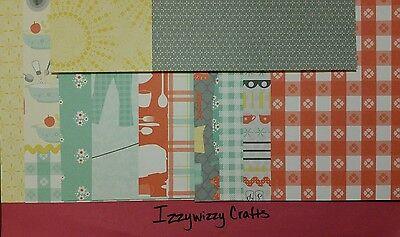 Stampin Up DOMESTIC GODDESS designer series paper cardstock 12 pk 6 x 6 (1414)