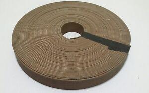"1 1/2"" x 1/8"" x 90 ft Conveyor Brown Woven Belt New"