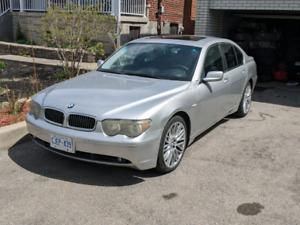2002 BMW 745I - 20 INCH BMW RIMS - $7500 OBO