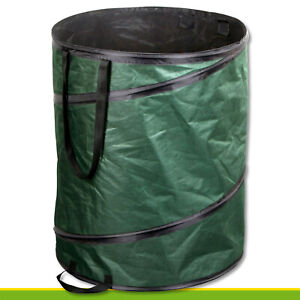 80L-Gartentasche-Pop-up-Laub-Aste-Pflanzen-Blumen-Abfall-Kompost-Bio