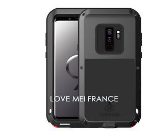6960c723e70302 Coque antichoc et etanche SAMSUNG Galaxy S9 plus - LOVE MEI FRANCE ...