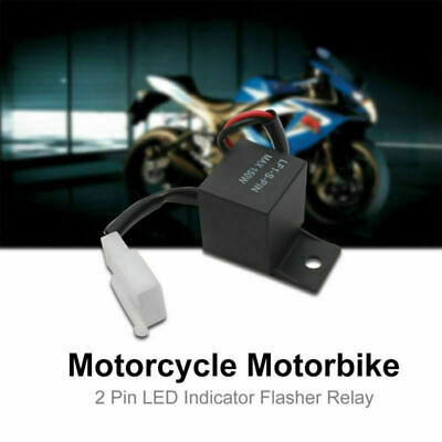 YIQI 2PIN 12V Flasher for LED Buzzer Flasher Relay for Car Motorcycle Turn Signal 1PC