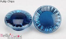 ☆╮Cool Cat╭☆【EB-13】Pullip/DAL/TY 20 Lines Acrylic Chips Blue Series # Steel Blue