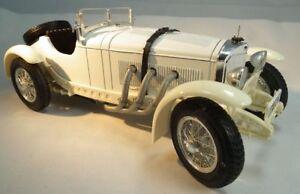 Mercedes-Benz-SSK-cabriolet-1928-en-escala-1-18-roadster-maqueta-de-coche-de-Burago