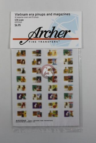 AR35360 25 Archer 1//35 Vietnam era Men/'s Magazine Covers and Pin-ups 32