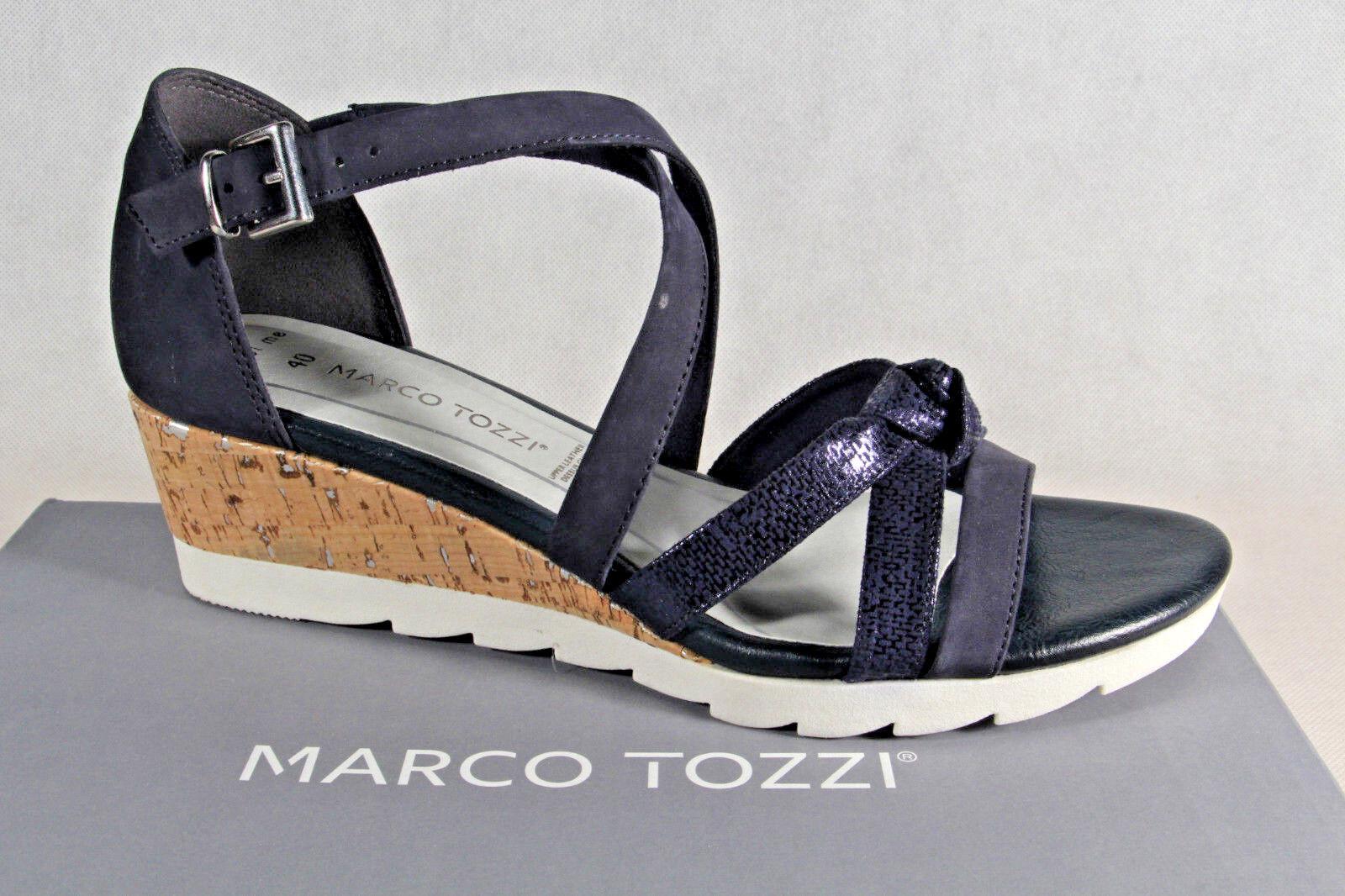 Marco Tozzi Damen Sandale Sandalen Sandalette Sandaletten