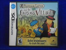 ds PROFESSOR LAYTON And The Curious Village *y NTSC Lite DSi 3DS REGION FREE