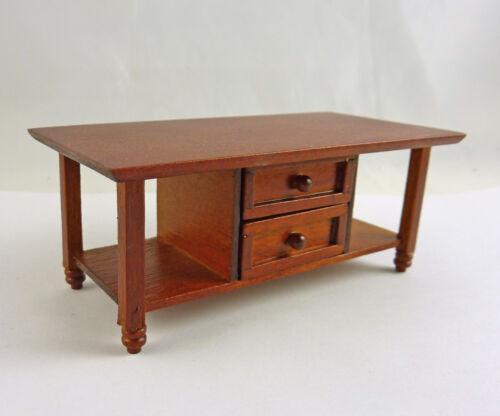 A103 Spice Ashley Dollhouse Modern Coffee Table