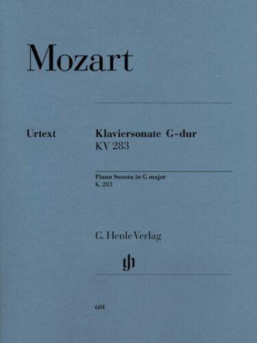 Mozart Piano Sonata in G Major K283 189h Sheet Music Piano Solo NEW 051480601