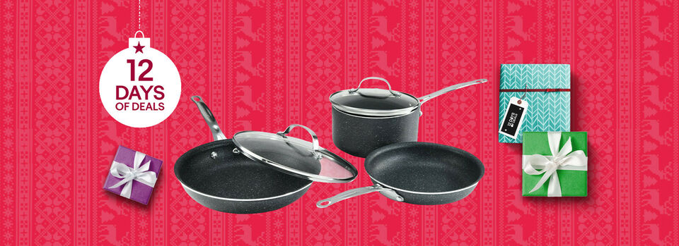 Shop Now - $54.99 For a 5pc Granite Stone Cookware Set