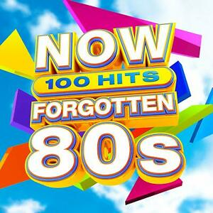 NOW-100-HITS-FORGOTTEN-80s-Various-Artists-5-CD-Set-2019-New-amp-Sealed