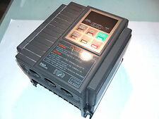 FUJI FVR0 75E9S 4 EX SOURCE 3 X 400 OUTPUT 1.7 KVA 2.5 A 0.2 - 400 HZ
