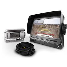 Carmedien Rückfahrsystem CM-DSKRFS2 mit Twin Doppel Shutter Rückfahrkamera