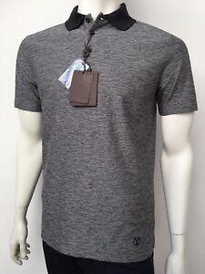 3166ac3d New Authentic Louis Vuitton Men's Clothing Black Epi Polo size L ...