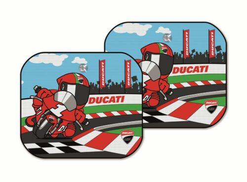 Ducati Corse Cartoon Sonnenschutz Auto Kinder Sonnenblende