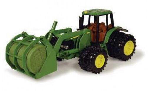 NEW John Deere 8   7220 Tractor with Bale Mover and Duals Ages 5+ (TBE15813)