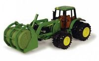 John Deere 8 7220 Tractor With Bale Mover And Duals Ages 5+ (tbe15813)