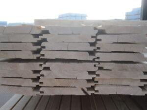 27 M Sibirische Larche 21 Mm Fassadenprofil 2 Wahl Profilholz