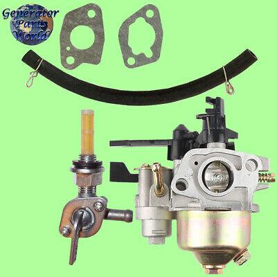 Carburetor w// Shutoff Left Petcock for Honda F401K2 F501 F501K1 F501K2 Tiller