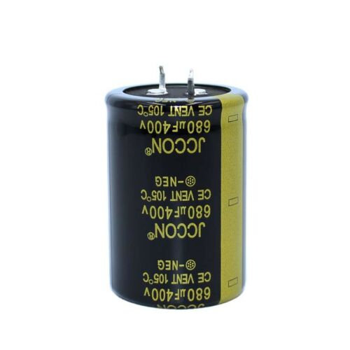 Snap-in Electrolytic Radial Capacitors 680uF 400V Power Supply Inverter 35x50mm