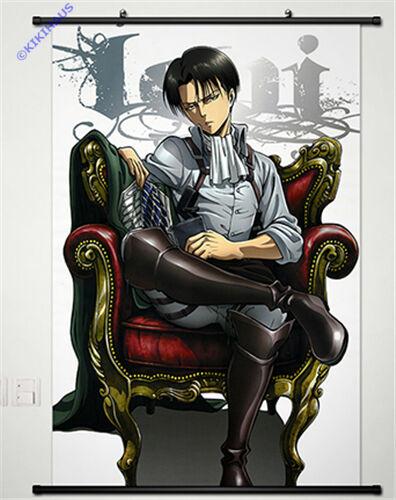 Neu Shingeki no Kyojin Attack on Titan Anime Wallscroll Stoffposter 60x90cm 025