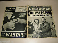 EUROPEO=1952/19=ERIO HELCIA CODECA=BRUNO BARILLI=FELICE FALCIONI=LO VERSO G.=